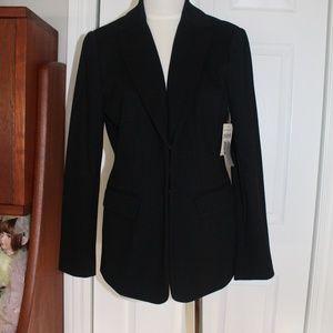 Coldwater Creek - Black Ponte Blazer jacket - new
